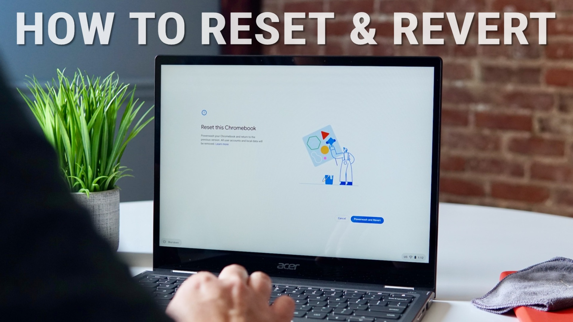 How to fix your Chromebook with a reset and firmware revert [VIDEO]