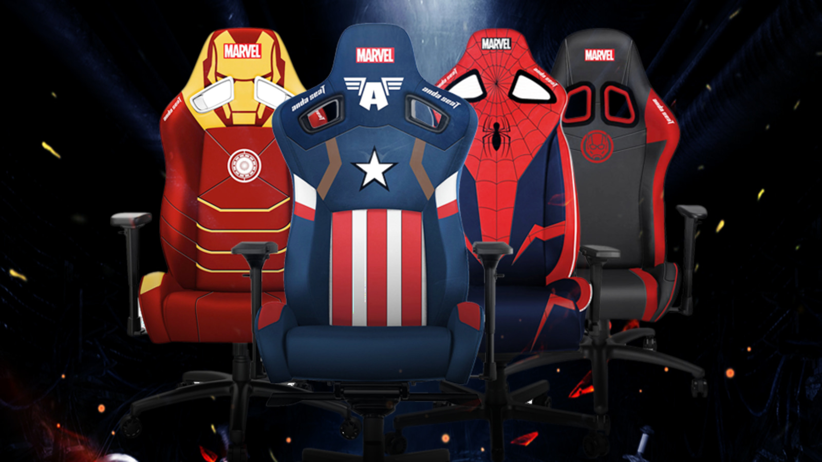 Take 50% off the AndaSeat Marvel Series gaming chairs
