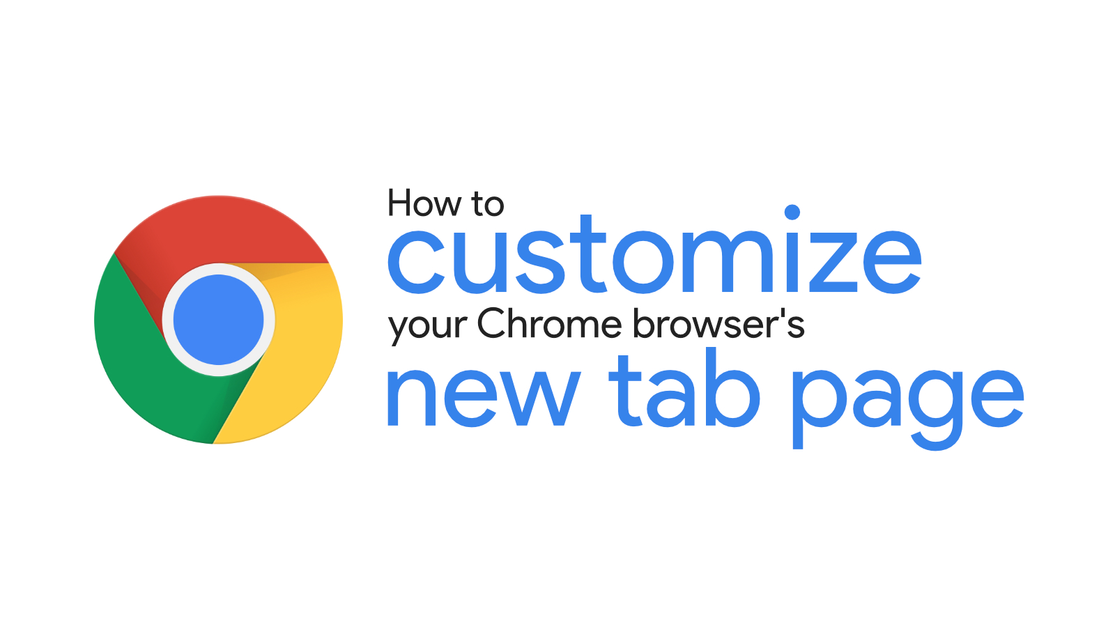 How to customize your Chrome browser's new tab page or remove the NTP modules