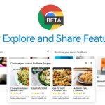 Chrome Beta update lets you try out NTP Cards, Stylized Web Notes, and Continuous Search