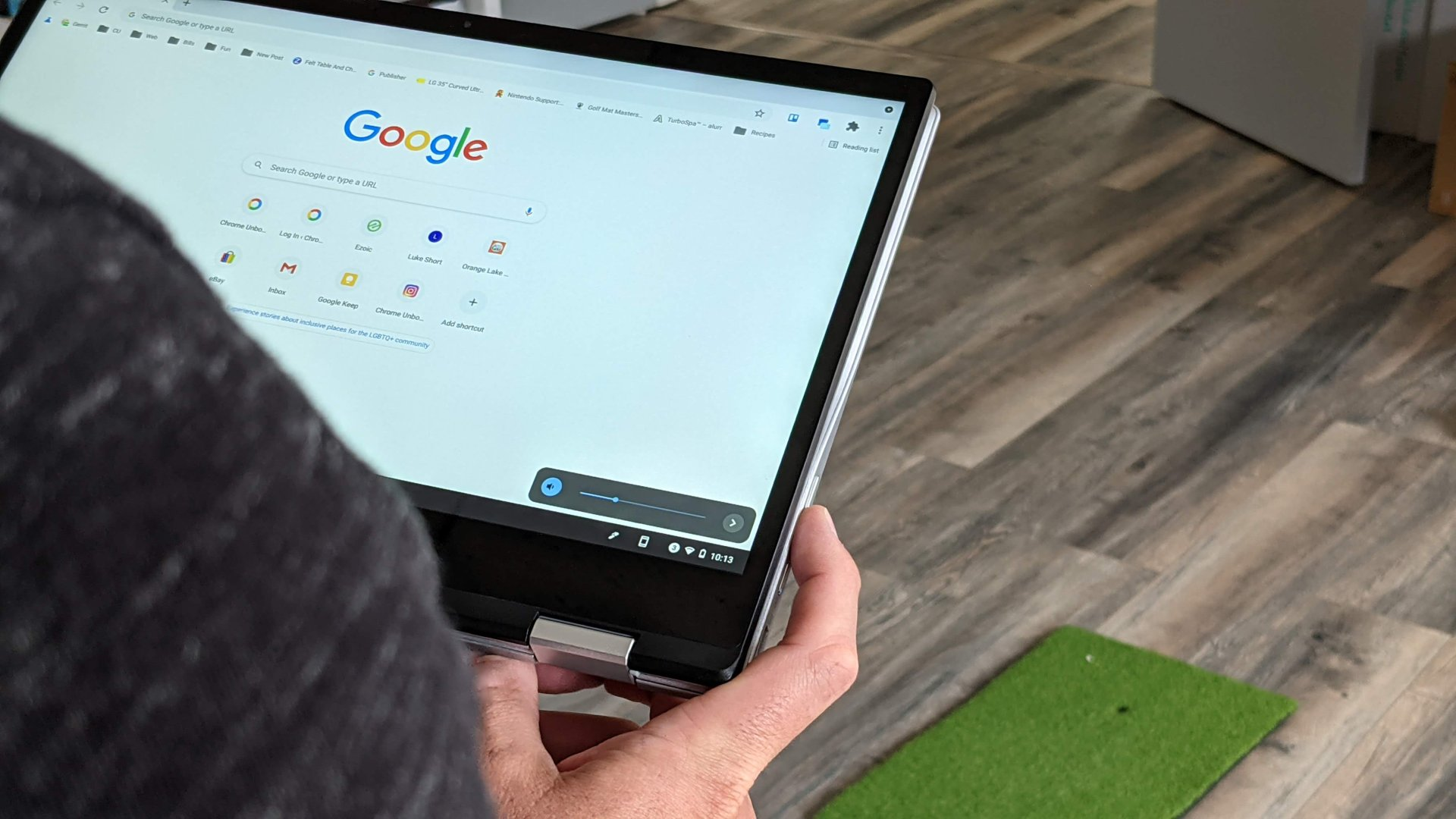 Chromebook tablet mode's goofiest issue needs to be fixed on convertibles