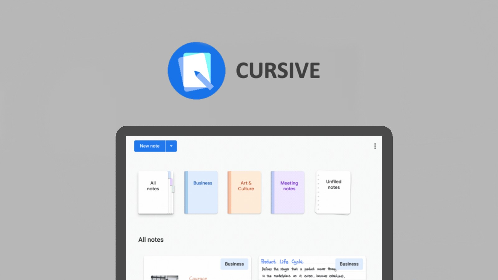'Cursive' – a handwritten notes app is Google's Chromebook-exclusive competitor to OneNote