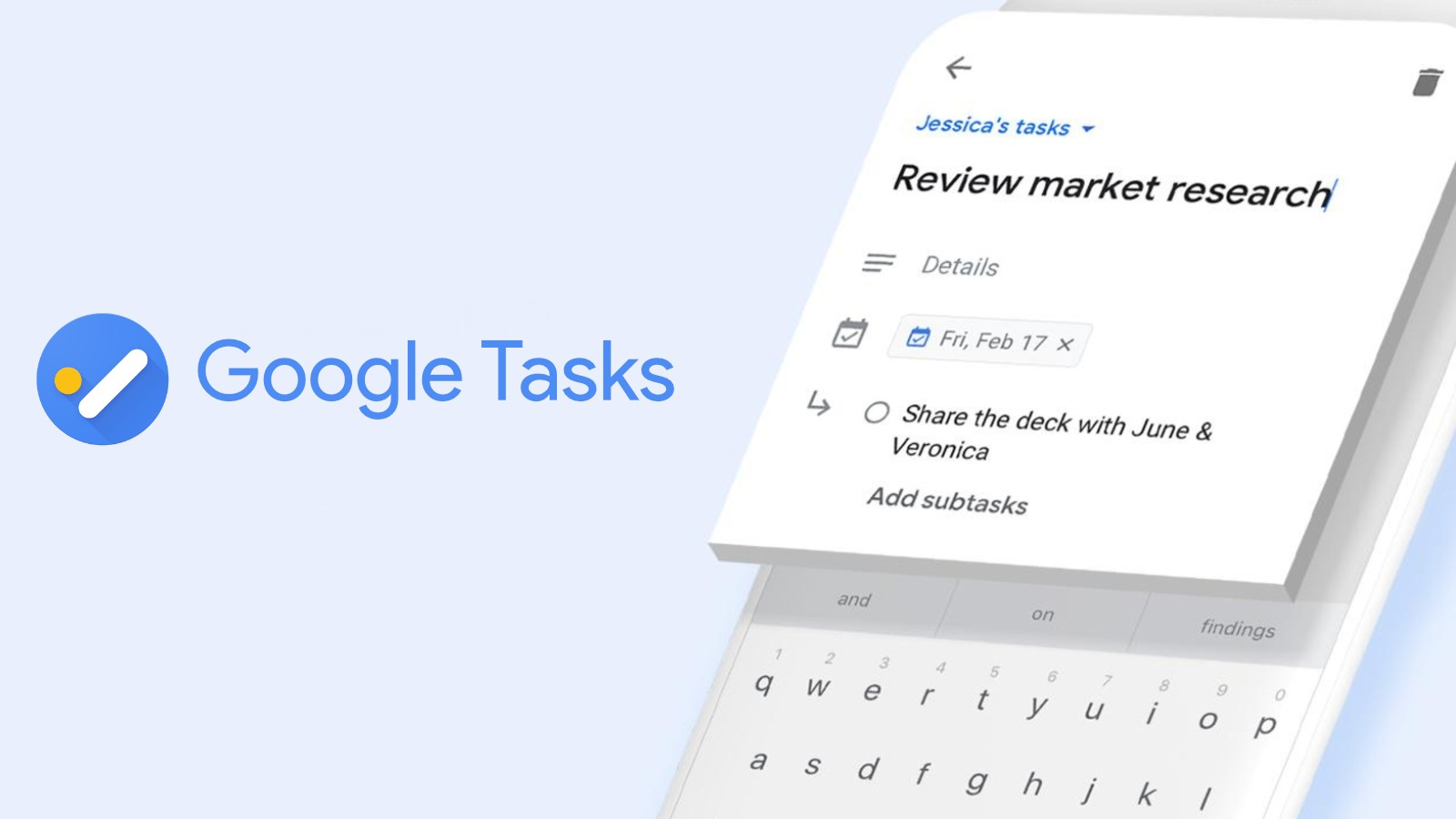 Google Tasks is getting rid of its unintuitive navigation drawer and will let you star entries