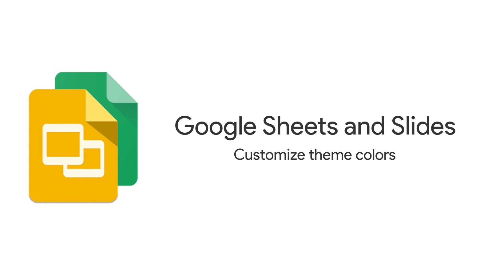 Google Sheets and Slides gain new color theme customization options