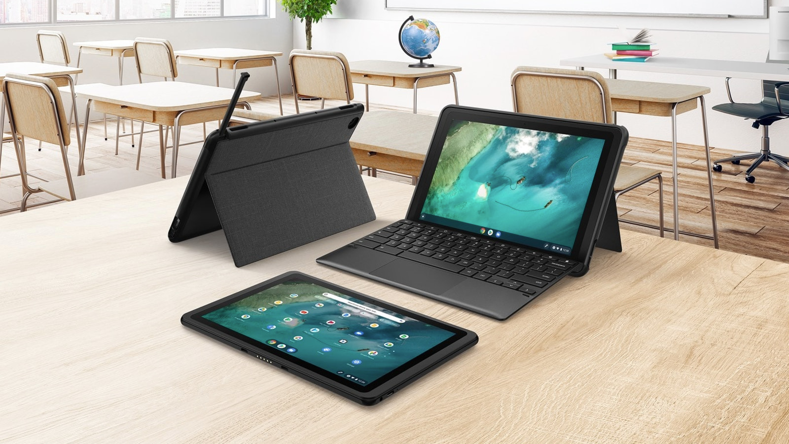 The clamshell to tablet Chromebook experience is a hot mess, but I have a solution