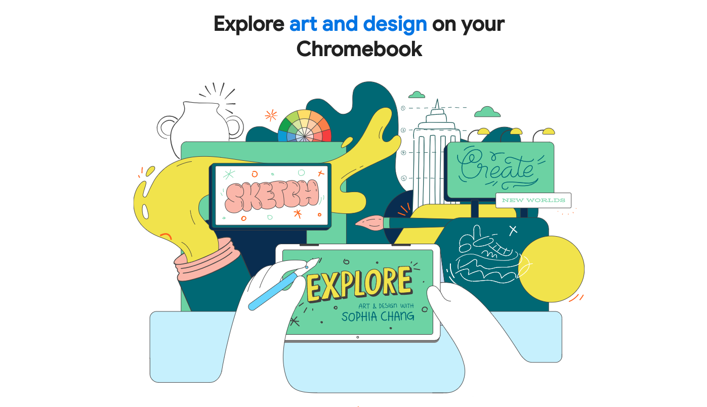 [Updated] Chrome OS for Kids – Here's an early look at Google's initiative for aspiring creators
