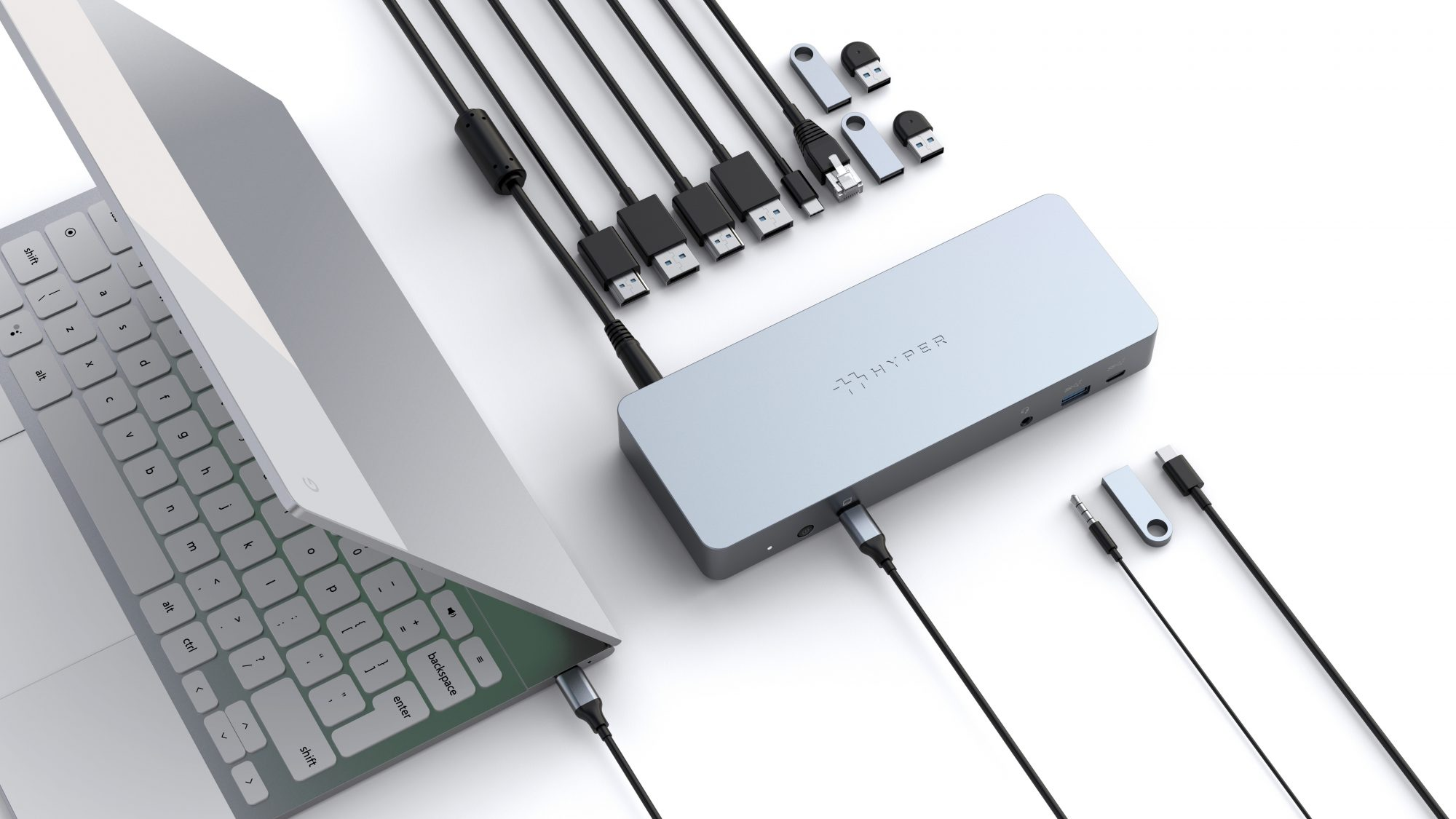 Hyper adds two new USB-C Works with Chromebook accessories to its lineup