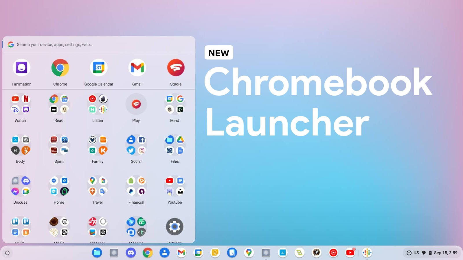 Here's how the new Chromebook Productivity Launcher cuts out unnecessary speed pitfalls
