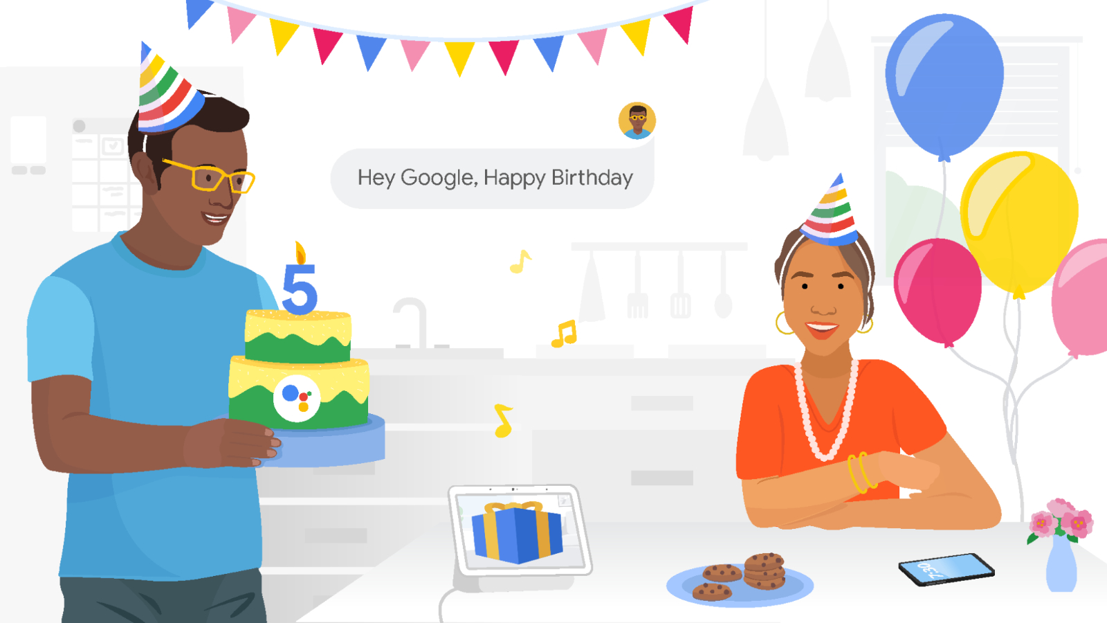 Google Assistant turns five years old, celebrates its own birthday, eats its own cake