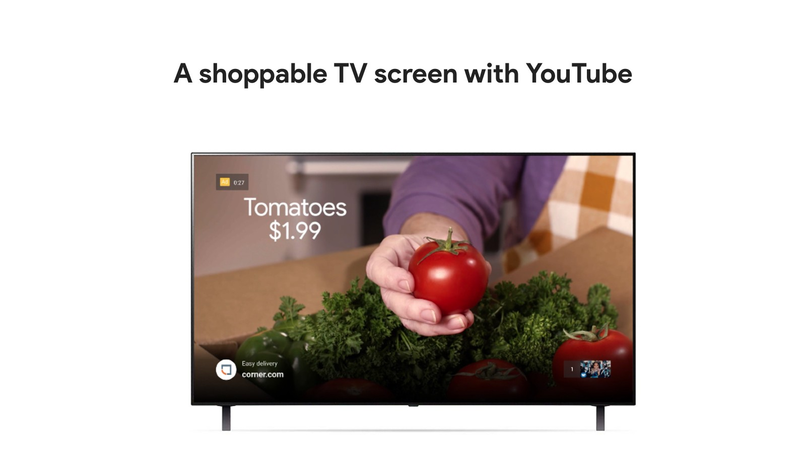 Youtube has created a way for you to purchase what you see on your TV as you're watching it
