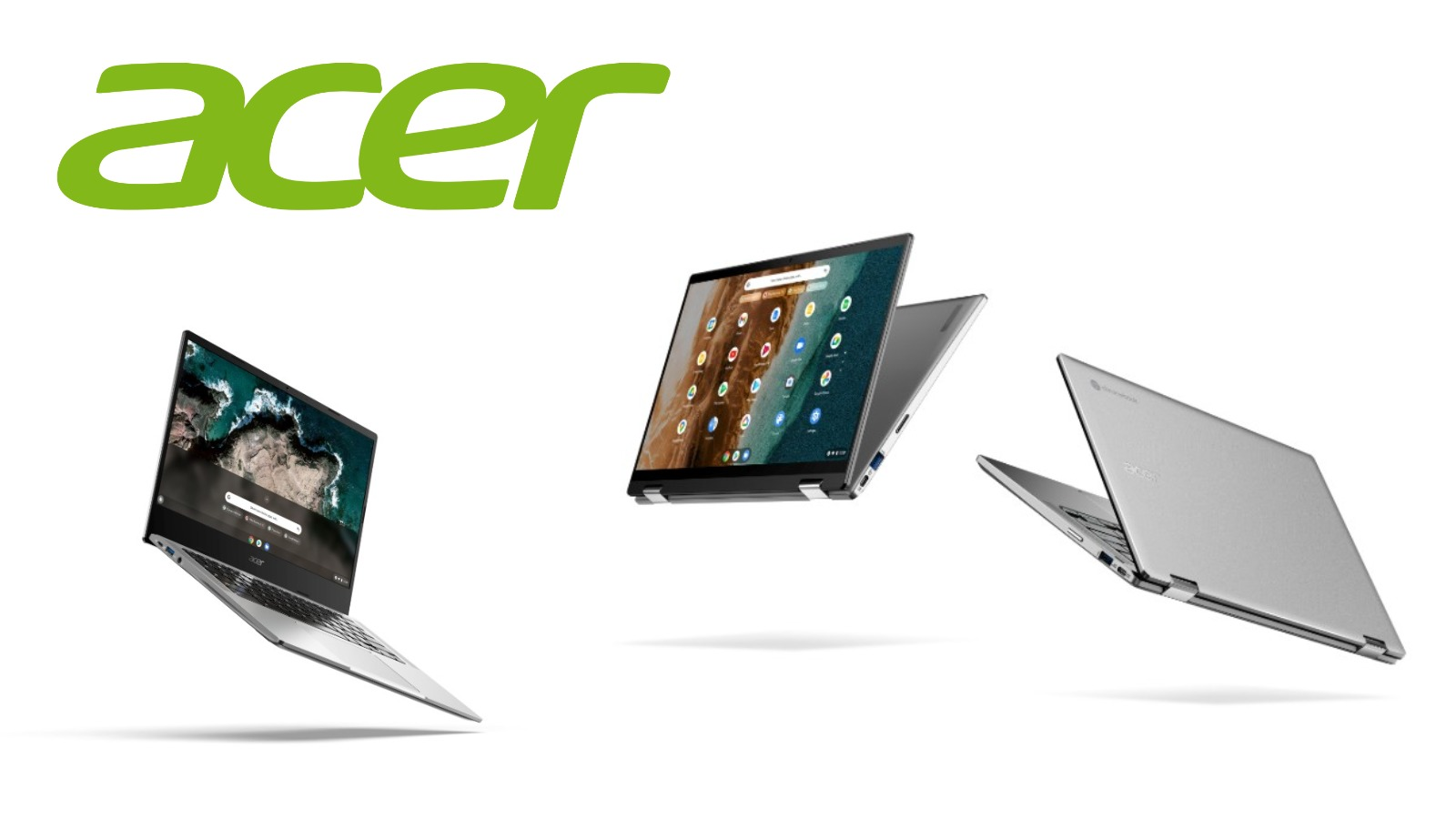 Acer unwraps four Chromebooks and new Works with Chromebook accessories
