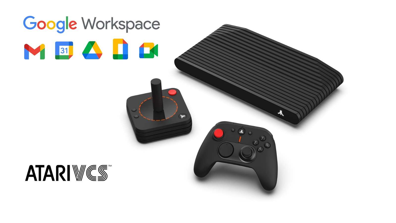 The Atari VCS just merged work and play with this Google Workspace upgrade